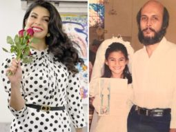 Jacqueline Fernandez shares her childhood picture with her father on his birthday
