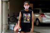 Kubra Sait spotted at Bandra