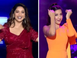 Madhuri Dixit dances on 'Ek Toh Kum Zindagani', Nora Fatehi grooves to the beats of 'Choli Ke Peeche' on Dance Deewane 3, watch video