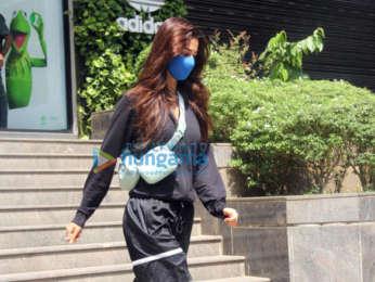 Photos: Disha Patani spotted in Bandra