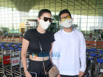 Photos: Kangana Ranaut, Gauahar Khan, Zaid Darbar and others snapped at the airport