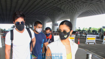 Photos: Ranbir Kapoor and Alia Bhatt snapped at the airport