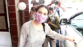 Sara Ali Khan spotted post-gym in Santacruz