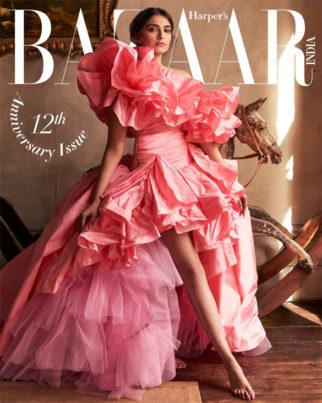 Sonam Kapoor Ahuja On The Cover Of Harper's Bazaar