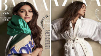 Sonam Kapoor looks gorgeous in Louis Vuitton on the cover of Harper's Bazaar Korea