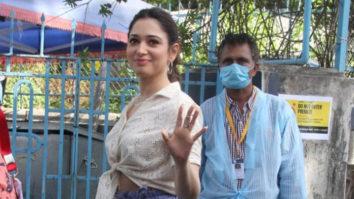 Tamannaah spotted at Bandra