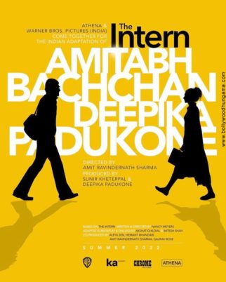 First Look Of The Intern