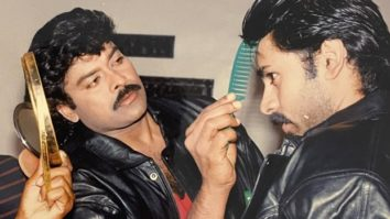 Chiranjeevi shares a major throwback picture with Pawan Kalyan as he looks forward to the release of Vakeel Saab