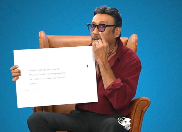 Hello Charlie: Jackie Shroff explains why Gorillas eat Bananas and how they mate