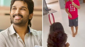 Allu Arjun tests negative for COVID-19, shares adorable video of reuniting with his kids