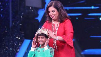 Contestant Pruthviraj from Karnataka gets 'crowned' by Farah Khan on Super Dancer - Chapter 4