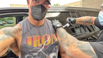 Dwayne Johnson gets his second dose of COVID-19 vaccine ahead of Black Adam filming
