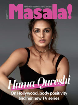 Huma Qureshi on the cover of Masala, May 2021