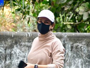 Photos: Aisha Sharma spotted in Bandra