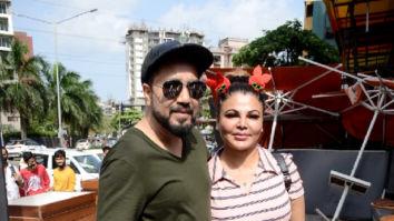 Photos: Rakhi Sawant and Mika Singh snapped in Andheri
