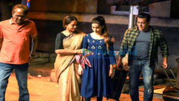 On The Sets Of Movie Radhe – Your Most Wanted Bhai