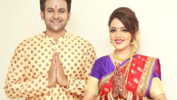 Sanket Bhonsale shared a video of Sugandha Mishra being the 'caring wife' and it's hilarious