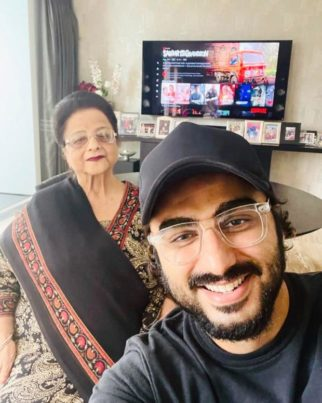 Sardar Ka Grandson: Janhvi Kapoor, Khushi Kapoor, Boney Kapoor, Malaika Arora among others support Arjun Kapoor