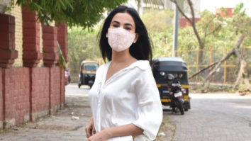 Sonal Chauhan spotted at Versova