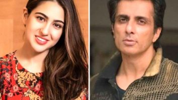 "Sara Ali Khan contributes towards Sonu Sood's charity foundation for COVID relief; Sood says ""You are a hero"""