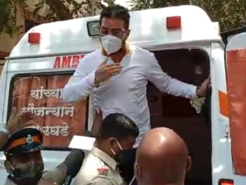 Hindustani Bhau arrested after using ambulance to reach protest site amid curfew