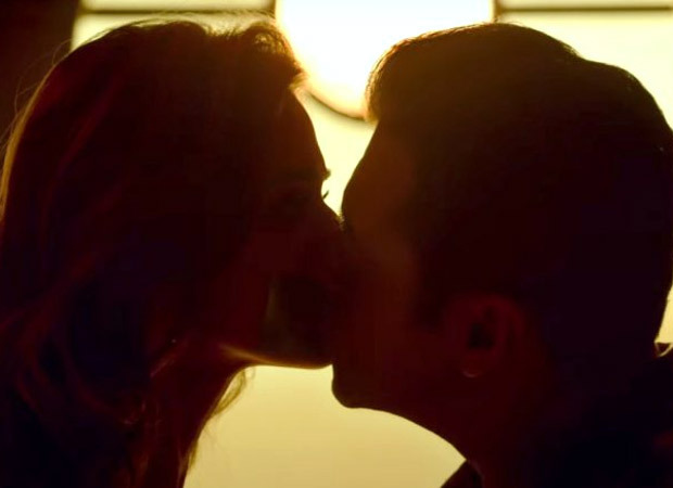 After kissing Disha Patani over a duct tape, Salman Khan gets creative with his next onscreen kiss