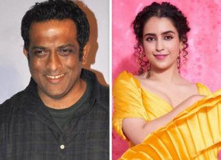 "Director Anurag Basu hails Sanya Malhotra; says, ""She has a personality that stays with you"""