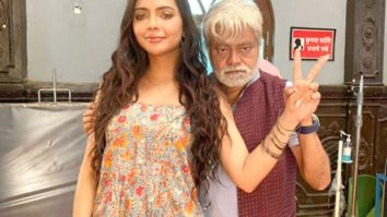 """He would fondly call me 'chirkut' which was absolutely hilarious,"" says Ruhi Singh on working with Sanjay Mishra"