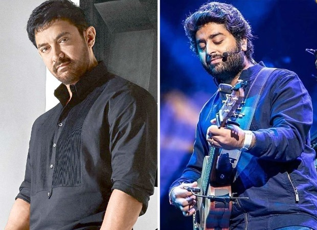 Aamir Khan requests Arijit Singh to croon his favourite track 'Ae Dil Hai Mushkil' title track during an online fundraising event