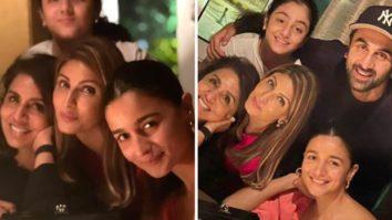 After Gangubai Kathiawadi wrap up, Alia Bhatt spends time with Ranbir Kapoor, Neetu Kapoor, Riddhima Kapoor Sahni