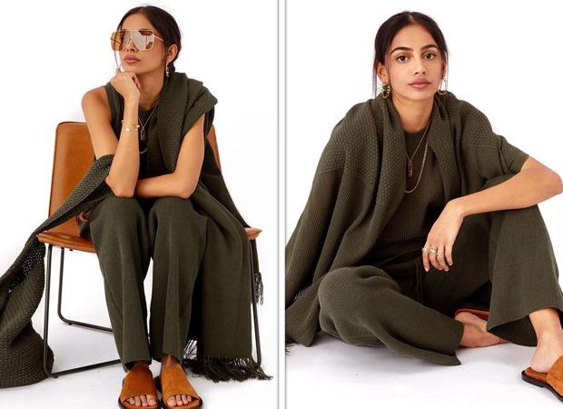 Banita Sandhu dons an olive green co-ord set worth Rs. 60,000