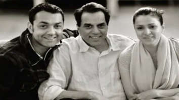 Bobby Deol shares rare picture of wife Tanya and father Dharmendra