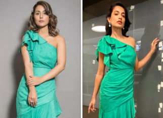 Fashion Face Off: Hina Khan or Sarah Jane Dias - who wore the stunning ruffled one-shoulder midi dress better?