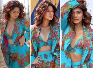 Jennifer Winget mesmerises giving us in the blue printed co-ord dress