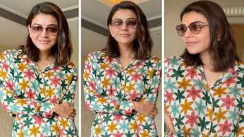 Kajal Aggarwal makes a strong case for prints; dons a floral printed shirt and shorts worth Rs. 9,900