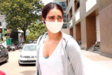 Karishma Tanna spotted outside gym at Laxmi Industrial Estate in Andheri