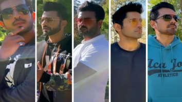 Khatron Ke Khiladi 11 Arjun Bijlani, Rahul Vaidya, Vishal Aditya Singh, Varun Sood and Abhinav Shukla bring back mannequin challenge on 'Brown Munde' track