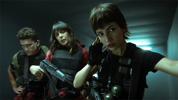 Photos from the first glimpse of Money Heist season 5 show the explosive chaos at the Bank of Spain