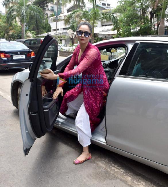 Photos Ankita Lokhande snapped at Kamal Jain's office in Juhu (5)