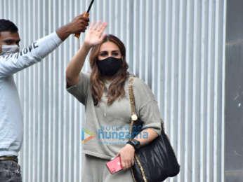 Photos: Huma Qureshi and Rashmika Mandanna snapped in Andheri