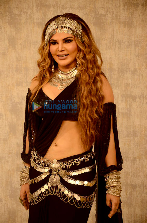 Photos Rakhi Sawant spotted at a studio for the launch of her song 'Dream Mein Entry' (3)