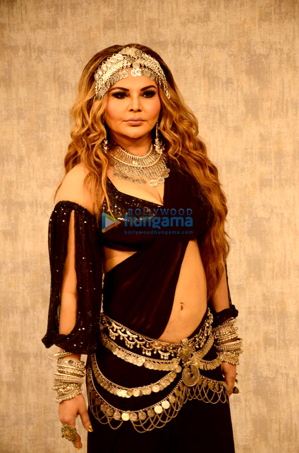 Photos Rakhi Sawant spotted at a studio for the launch of her song 'Dream Mein Entry' (5)
