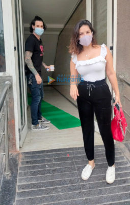 Photos: Sunny Leone and Daniel Weber snapped in Andheri