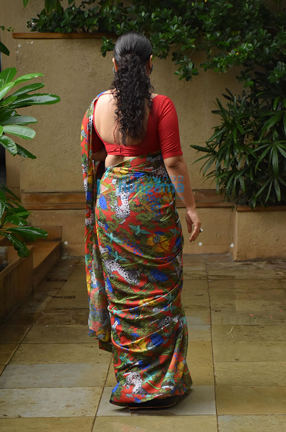 Photos Vidya Balan snapped promoting her film Sherni (6)