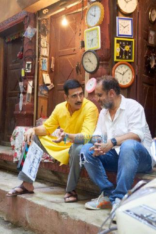 On The Sets Of The Movie Raksha Bandhan