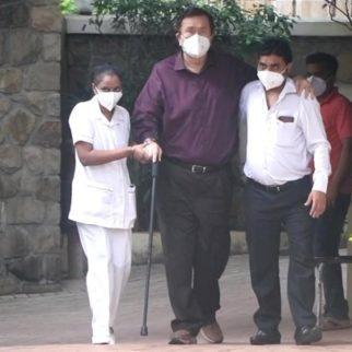 Randhir Kapoor spotted at Kareena Kapoor's house in Bandra