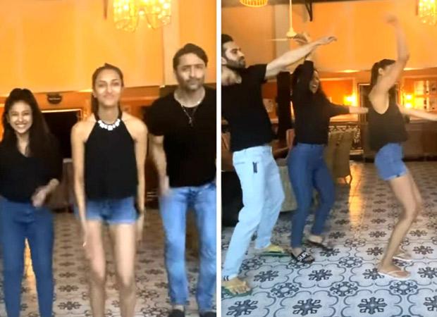 Shaheer Sheikh dances with Kuch Rang Pyaar Ke Aise Bhi co-star Erica Fernandes on viral 'My Bestie' song