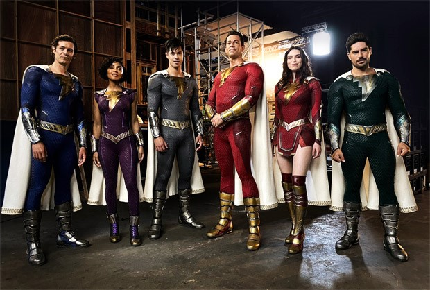 Shazam! The Fury of the Gods first look is here and it features Zachary Levi in new suit
