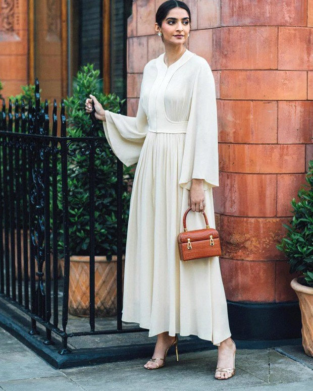 Sonam Kapoor is a vision in all-white dress, carries Gabriella Hearst bag worth Rs. 2.5 lakh