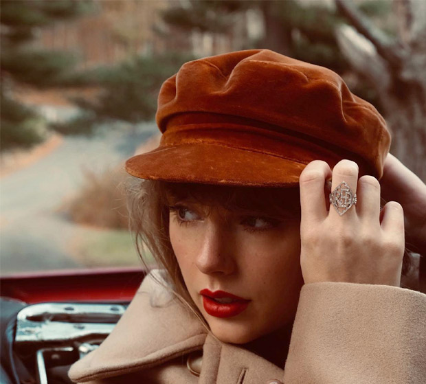 Taylor Swift announces 'Red'.as her next re-recorded album set to release on November 19, 2021